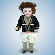 Antique Small French Bisque Head Doll