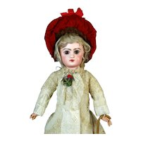 E6D Jumeau Emile Douillet Antique French Bisque Head Doll