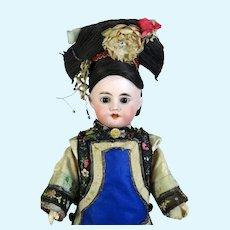 Fleischmann & Blodel Antique French Bisque Head Doll