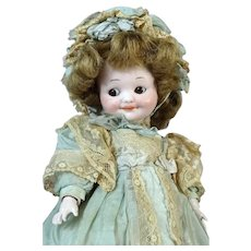 Armand Marseille AM 323 Googly Antique German Bisque Head Doll