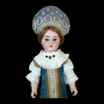 Bahr & Proschild 444 Antique German Bisque Head Doll
