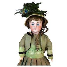 Simon & Halbig S&H DEP 7 Antique Bisque Head Doll