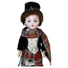 JDK Johann Daniel Kestner 143 Antique German Bisque Head Doll
