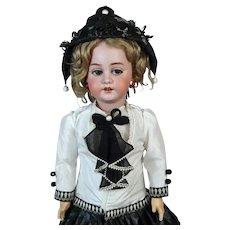 Simon & Halbig S&H 1039 DEP  Roullet et Decamps Rare Antique French Bisque Head Doll