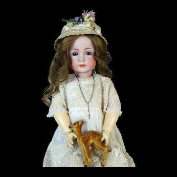 Kammer & Reinhardt 117А Rare Antique German Bisque Head Doll