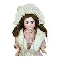 Johann Daniel Kestner Antique German Bisque Head Doll
