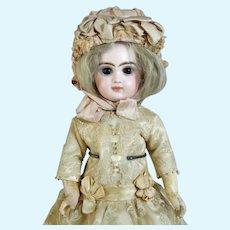 Emile Jumeau 3 Antique French Bisque Head Doll