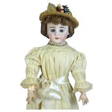 Fleischmann & Bloedel Antique French Bisque Head Doll