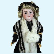 Johann Daniel Kestner 164 Antique German Bisque Head Doll
