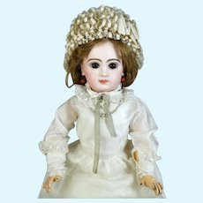 Emile Jumeau 8 Antique French Bisque Head Doll