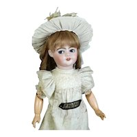 SFBJ Antique French Bisque Head Doll