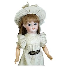 SFBJ Antique French Bisque Head Doll