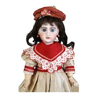 Jumeau 6 Antique French Bisque Head Doll