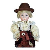 Kammer & Reinhardt 115A Antique German Bisque Head Doll