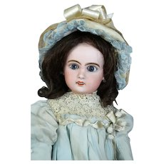 Jumeau 7 Antique French Bisque Head Doll