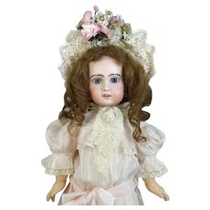 Jumeau 10 French Antique Bisque Head Doll