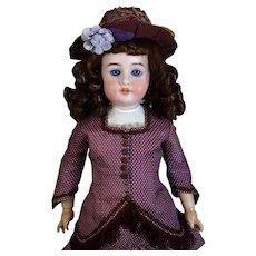 A. C. Anger AM 1904 Antique Austrian Bisque Head Doll