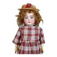 Rare Simon & Halbig 1299 Antique German Bisque Head Doll
