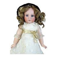 Heubach Jumeau 1907 Antique French Bisque Head Doll