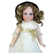 Heubach Jumeau 1907 Antique French Bisque Head Doll