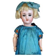 Kley & Hahn Walkure Antique German Bisque Head Doll