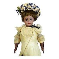Simon & Halbig Heinrich Handwerck Black Antique German Bisque Head Doll