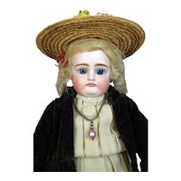 Johann Daniel Kestner 8 Pouty Antique German Bisque Head Doll