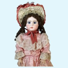 Antique French Bisque Head Doll Steiner A