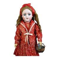 Antique German Bisque Head Doll Kley & Hahn Walkure