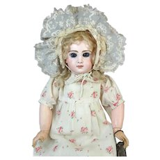 Antique French Bisque Head Doll Jumeau 8