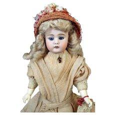 Antique German Bisque Head Doll Baehr & Proeschild 320