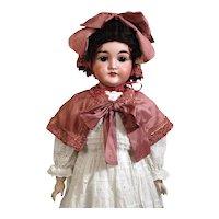Antique German Bisque Head Doll Karl Hartmann