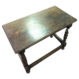 Late 19th century Barley Twist Side Table
