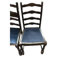 Vintage Upholstered Dining Chairs (sold individually)