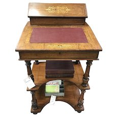 Late 19th century Davenport Desk
