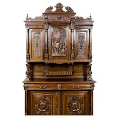 Eclectic, Carved Cupboard/Buffet