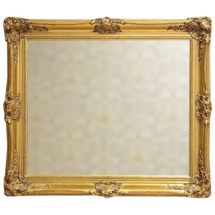 French Mirror in a Gilded Frame, circa 1900 : Antique Beauty | Ruby Lane