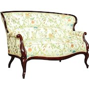 Sofa in the Louis Philippe Style approx. 1830 - new upholstery