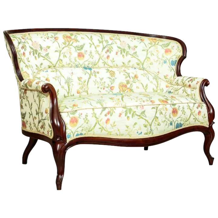 Sofa In The Louis Philippe Style Rox 1830 New Upholstery Antique Beauty Ruby Lane