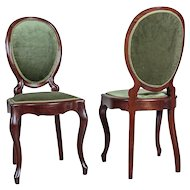 Pair of French Chairs from ca. 1870