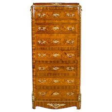 French Neorococo Dresser-Secretary Desk - 2nd half of 19th Century