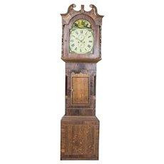 English Grandfather Clock, Circa 1820