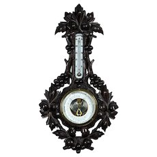 Barometer in a Spectacular Case - first half of 20th Century