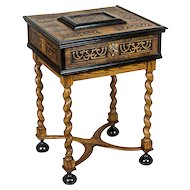 Neo-Baroque Sewing Table - 19th Century