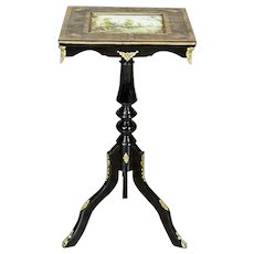 Small Table, Circa 1880, Made In Black Japan