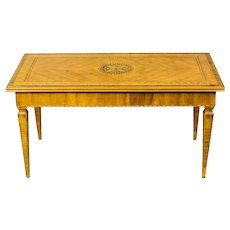 Intarsiated Coffee Table -- 1930