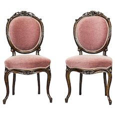 Two Louis Philippe Chairs -- The 2nd Half of the 19th Century