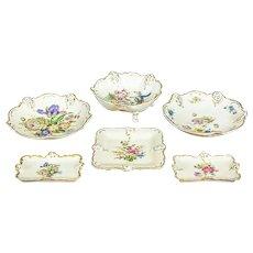 A Set of Rosenthal Porcelain Epergnes -- Circa 1943-1950