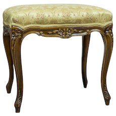 Stool in the Rococo Type, Circa 1950s-1960s