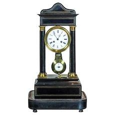 19th-Century French Mantel Clock/H. Lefoye